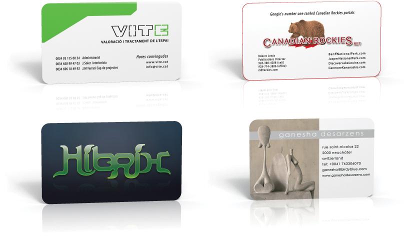 Diseño de tarjetas de visita | Bizcard design