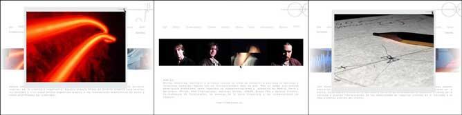 Coldcreation website screenshots